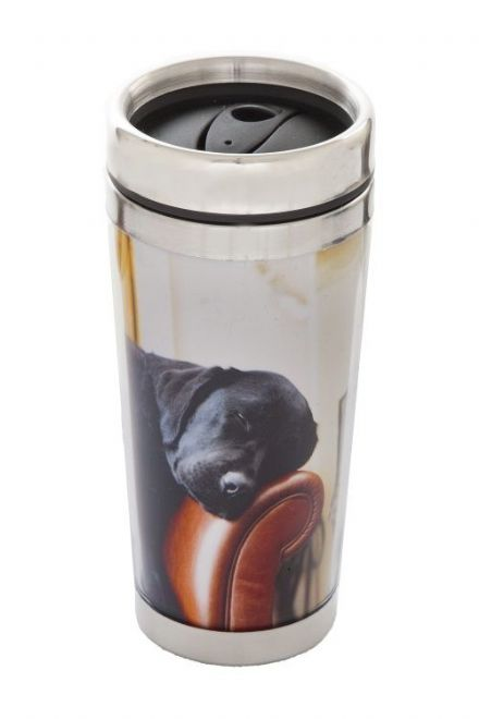Thermal Mug, Sleeping Labrador